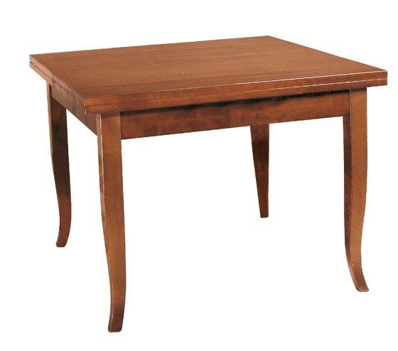tavolo quadrato gambe sciabola mobili arte povera torino