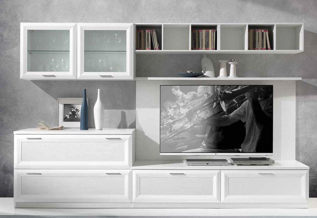 soggiorno moderno 4 cassetti