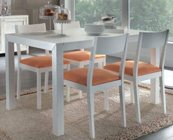 tavolo bianco mobili arte povera torino