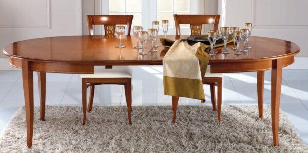 tavolo ovale con allunghe arredamenti divani torino