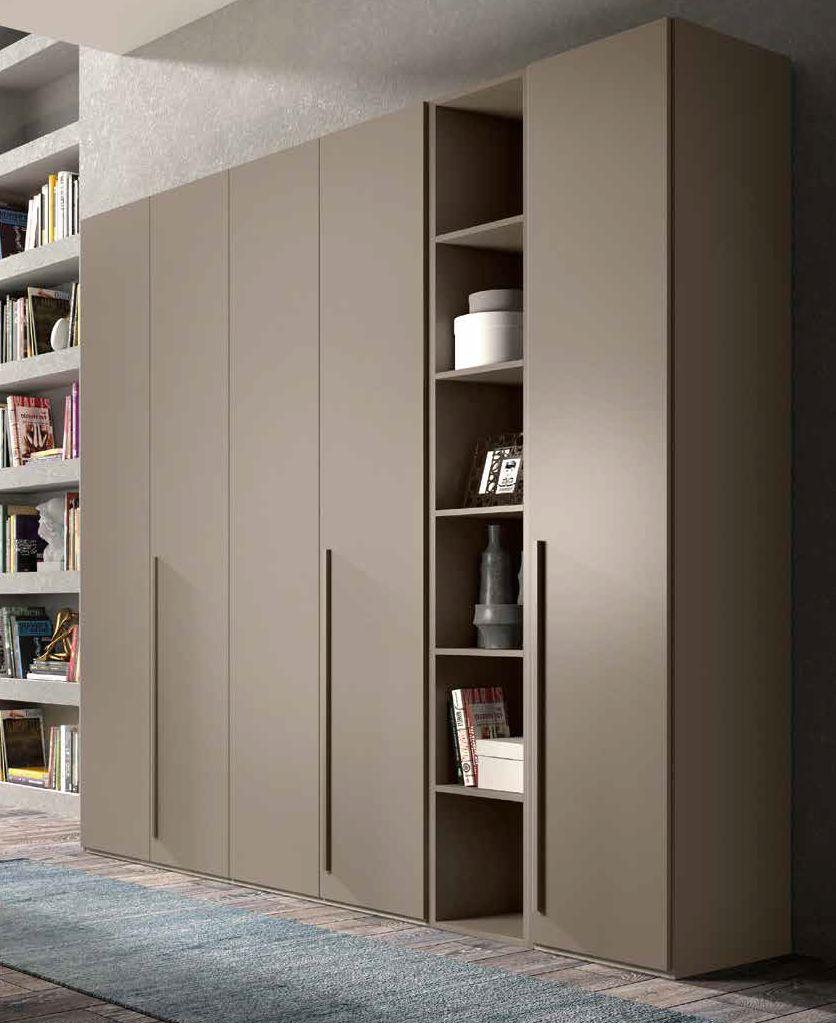 armadio moderno color visone arredamenti divani torino