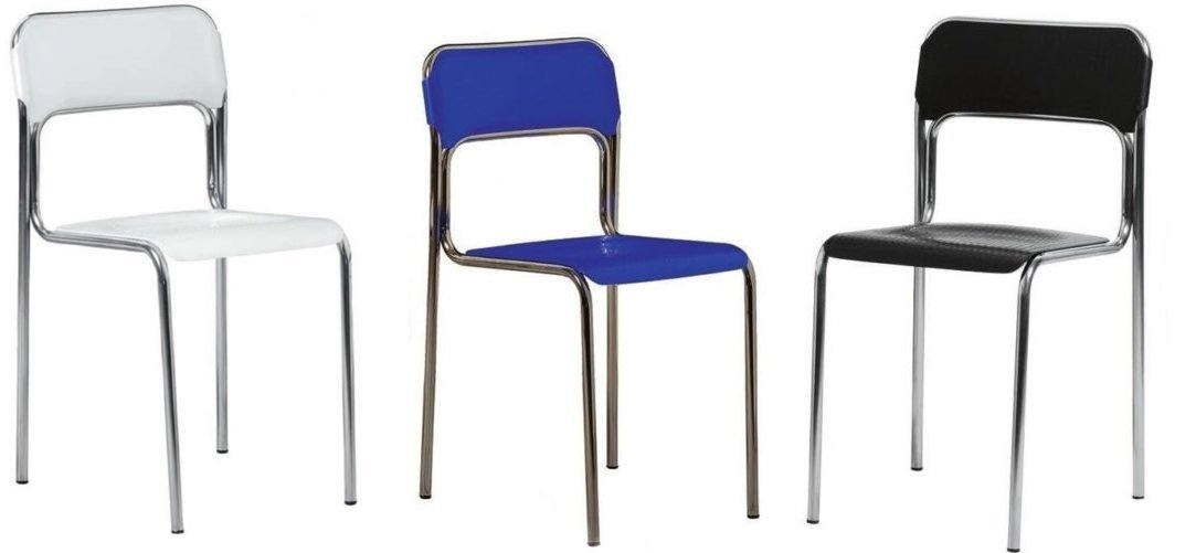 sedia plastica semitrasparente arredamenti divani torino