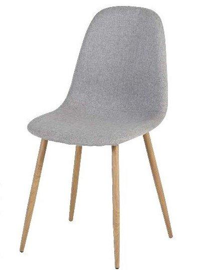 sedia tessuto grigio arredamenti divani torino