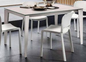 tavolo allungabile piano in lamina arredamenti divani torino