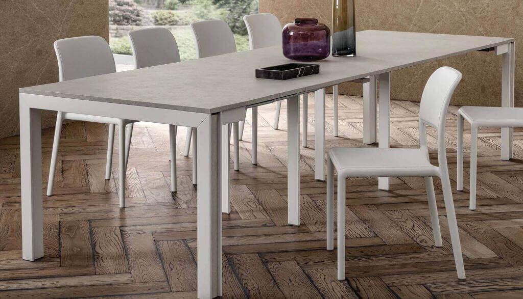 tavolo consolle gambe in legno arredamenti divani torino