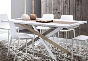 tavolo moderno allungabile arredamenti divani torino