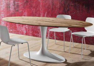 tavolo moderno base marmo bianco arredamenti divani torino