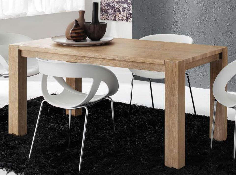 tavolo moderno allungabile in rovere