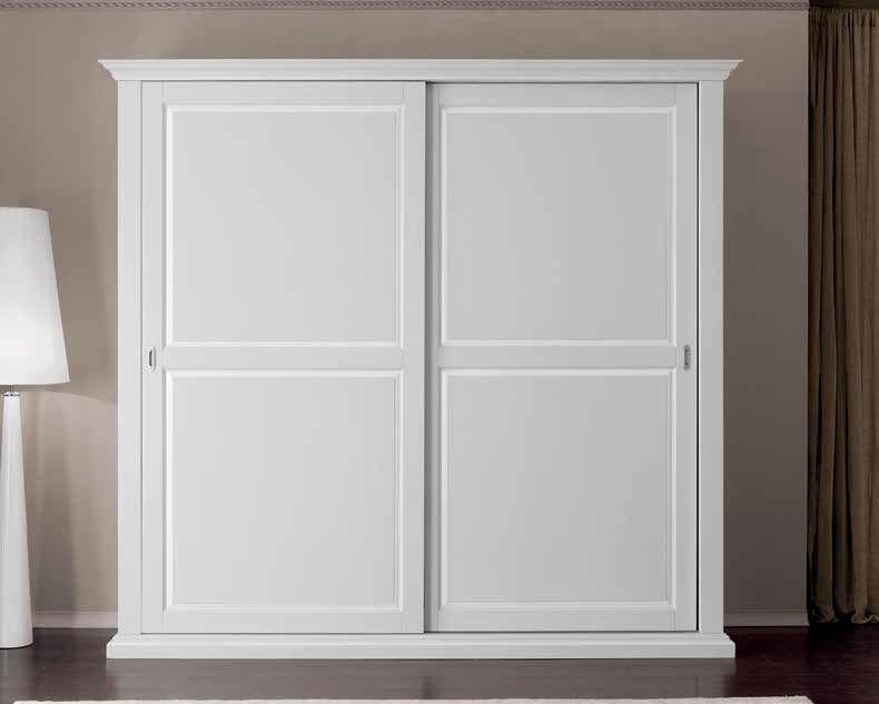 armadio bianco smontabile