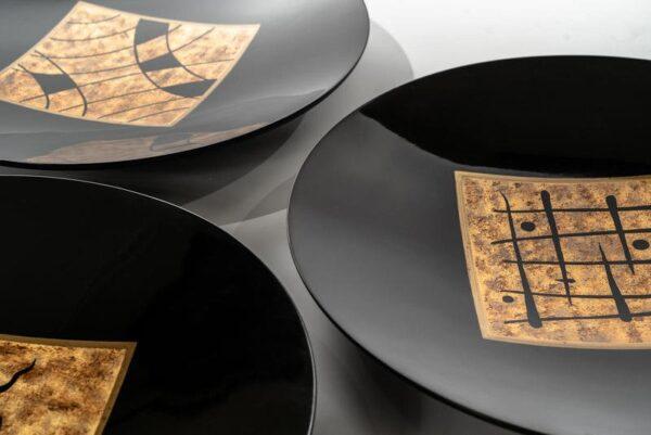 tre piatti decorativi mobilificio torino e rivoli