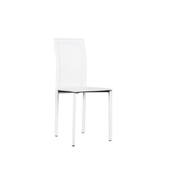 sedia net bianca mobilificio torino e rivoli