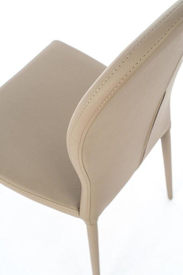 dettaglio sedia smart tortora mobilificio torino e rivoli