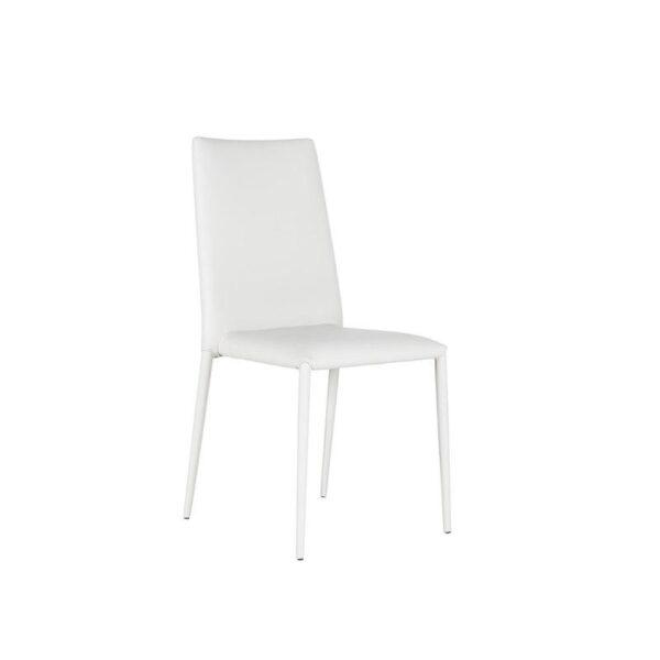 sedia cleo bianca mobilificio torino e rivoli