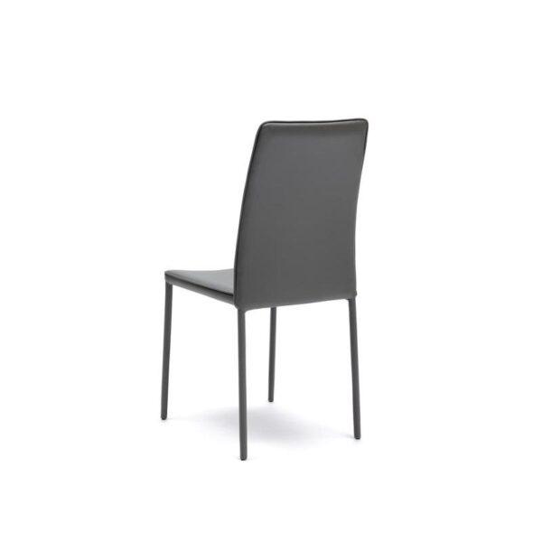 retro sedia ruby grigia mobilificio torino e rivoli