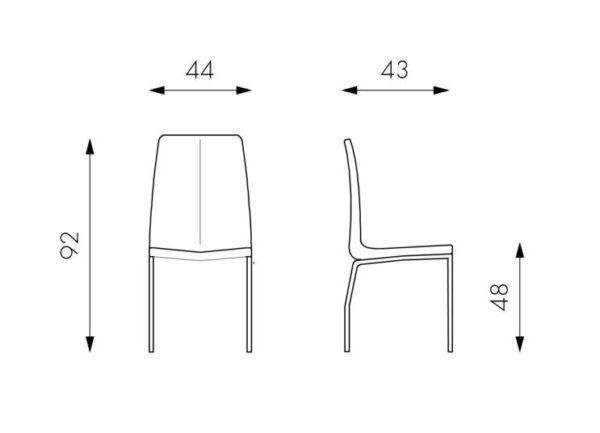 scheda sedia viva mobilificio torino e rivoli