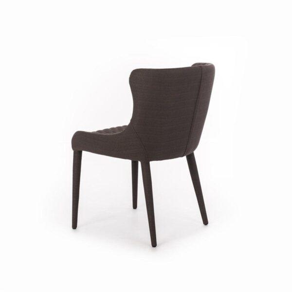 retro sedia afrodite marrone mobilificio torino e rivoli