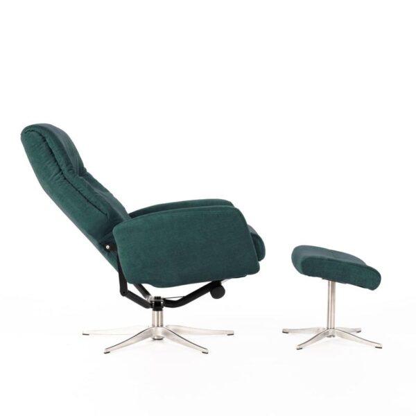 sedia blu petrolio inclinata mobilificio torino e rivoli