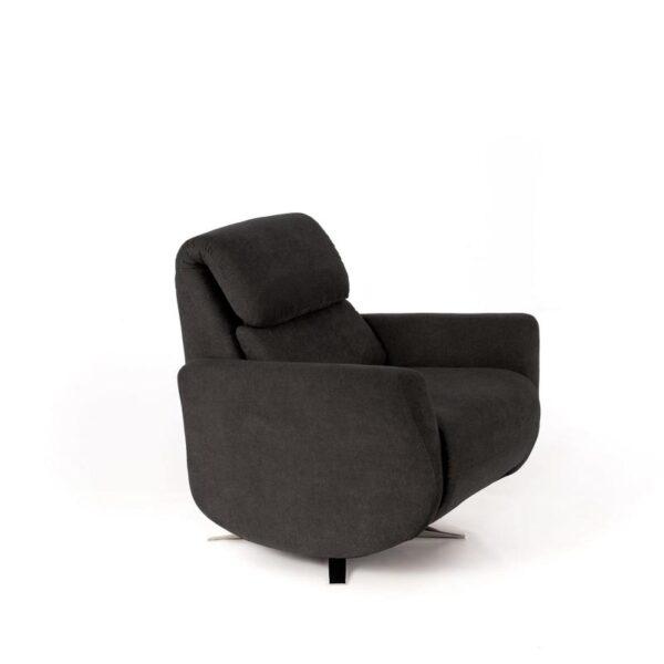 lato poltrona z004 grigia scuro mobilificio torino e rivoli