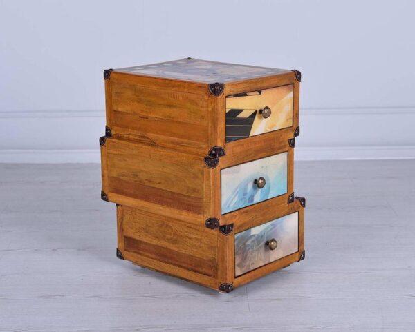 cassettiera tre cassetti mobilificio torino e rivoli