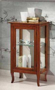 vetrinetta bassa 1 porta 1 ripiano mobilificio torino e rivoli