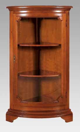 angoliera bassa 1 porta in vetro e 2 ripiani mobilificio torino e rivoli