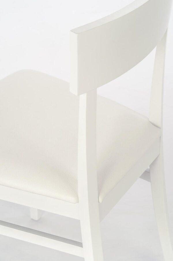 dettaglio sedia monaco bianca mobilificio torino e rivoli