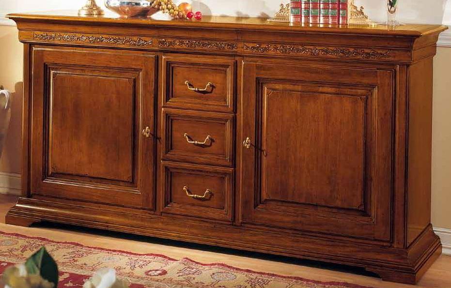 credenza 2 porte 3 cassetti mobilificio torino e rivoli