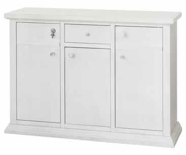 credenza bianca 3 porte 1 cassetto mobilificio torino e rivoli