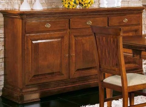 credenza 3 porte 3 cassetti ripiani interni mobilificio torino e rivoli