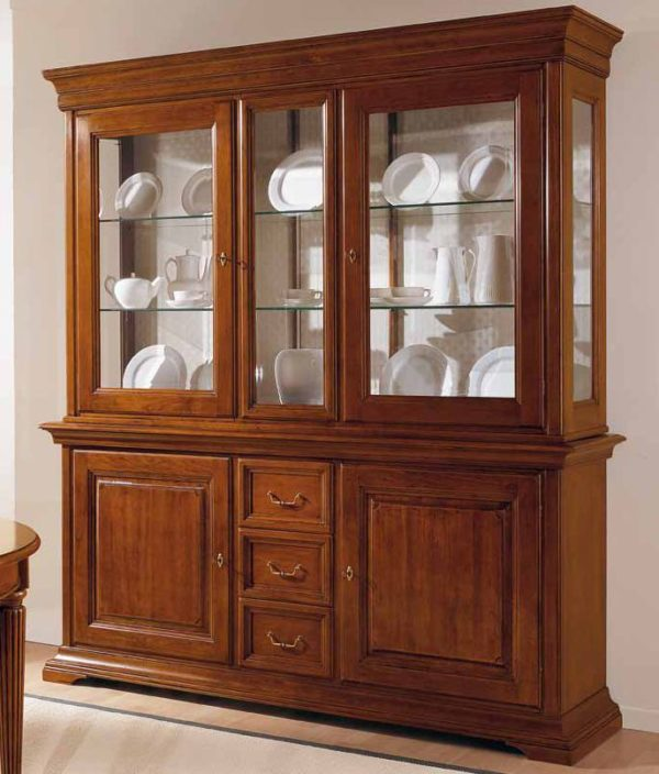 cristalliera 2 porte e ripiani mobilificio torino e rivoli