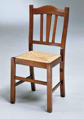 sedia 3 barre orizzontali seduta paglia mobilificio torino e rivoli