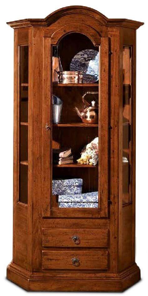 vetrinetta 1 porta 2 cassetti mobilificio torino e rivoli