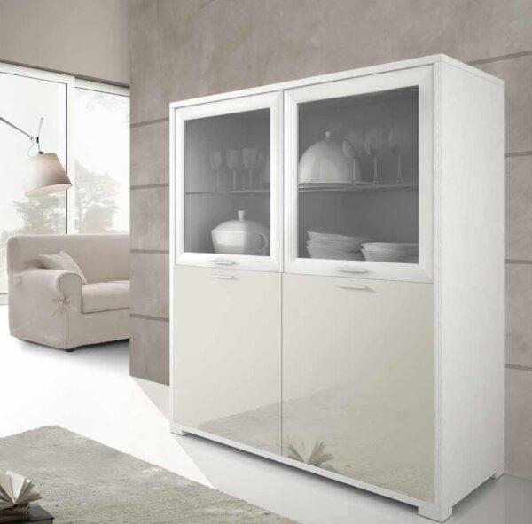 vetrina moderna 2 porte mobilificio torino e rivoli