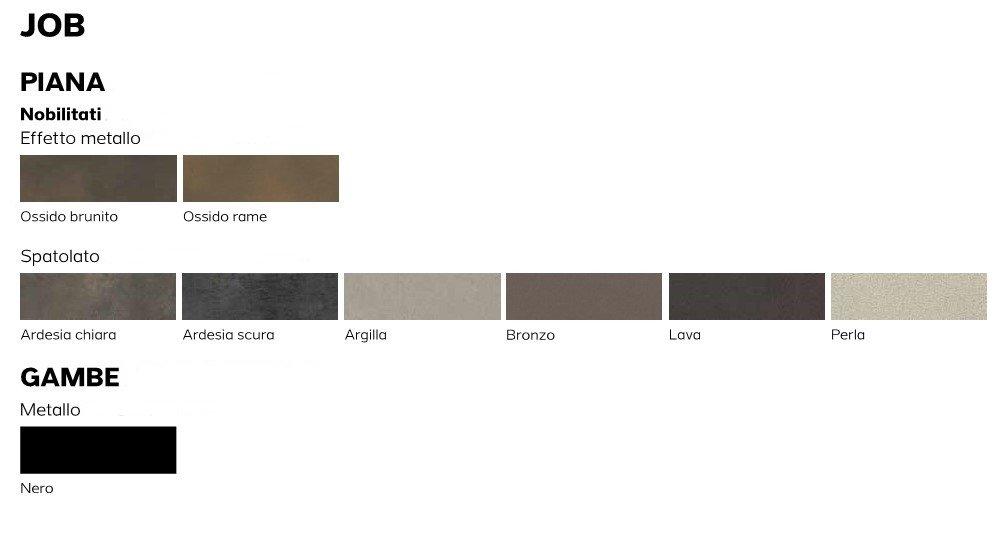 colori tavolo job mobilificio torino