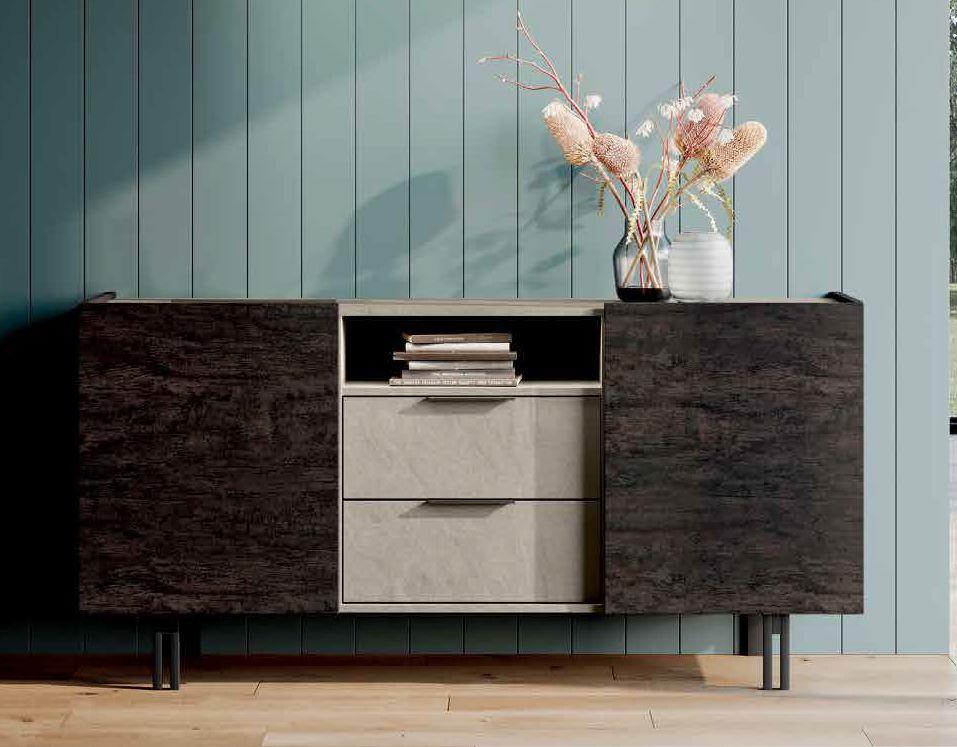 madia moderna con cassetti e vano mobilificio torino e rivoli