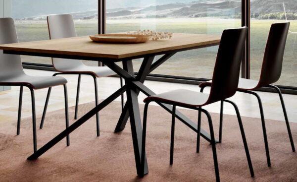 tavolo moderno fisso noa mobilificio torino e rivoli