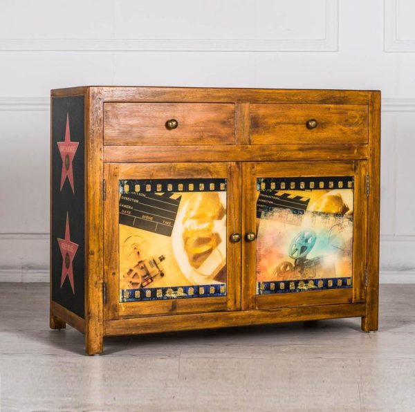 madia moderna decorata mobilificio torino e rivoli