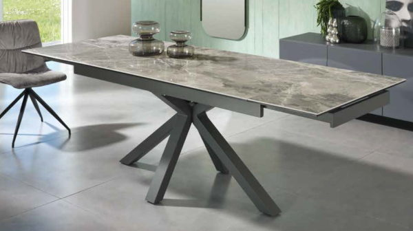 tavolo ceramica grigio mobilificio torino e rivoli