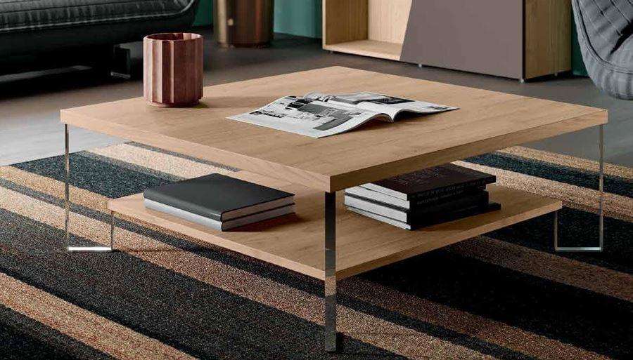 tavolino moderno double mobilificio torino e rivoli