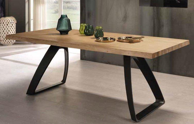 tavolo bridge in rovere mobilificio torino e rivoli