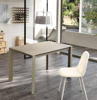 tavolo pixel cappuccino piccolo mobilificio torino e rivoli