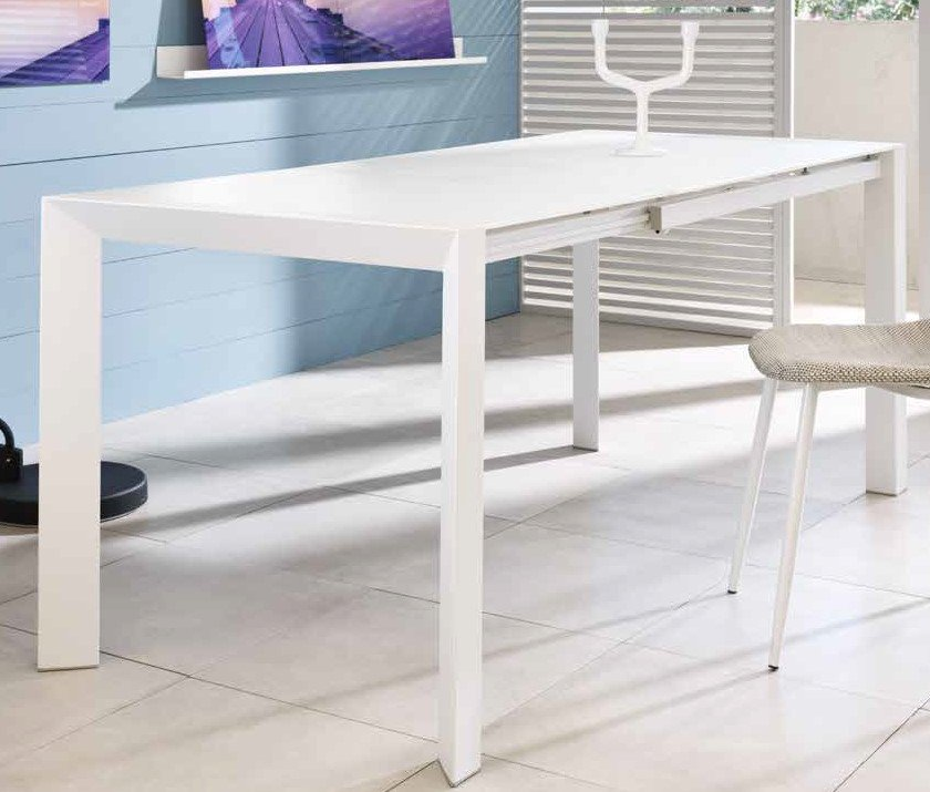 tavolo in vetro bianco extrawhite mobilificio torino e rivoli