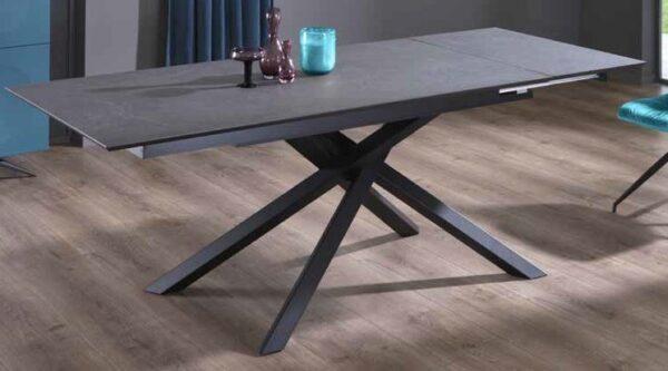 tavolo allungabile top grigio scuro mobilificio torino e rivoli