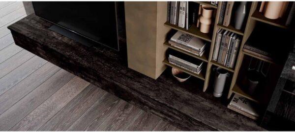 base soggiorno color legno bruciato mobilificio torino e rivoli