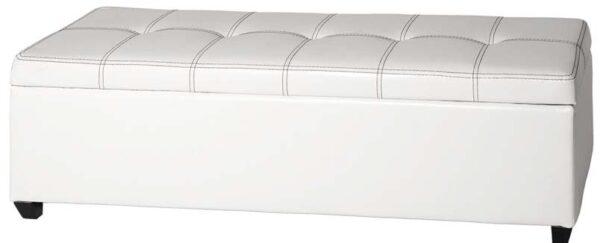 cassapanca in similpelle bianca mobilificio torino e rivoli