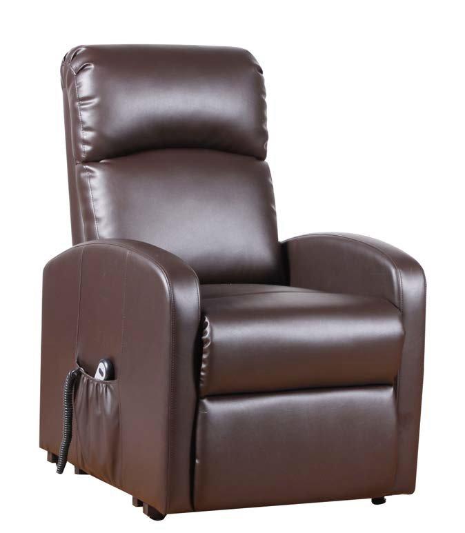 poltrona relax motorizzata marrone mobilificio torino e rivoli