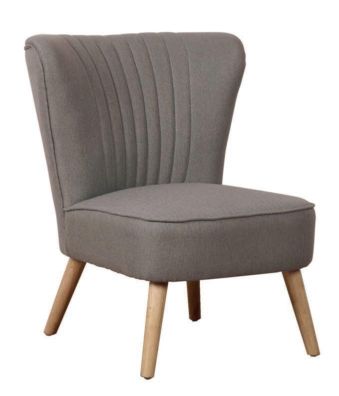 sedia in tessuto grigia mobilificio torino e rivoli