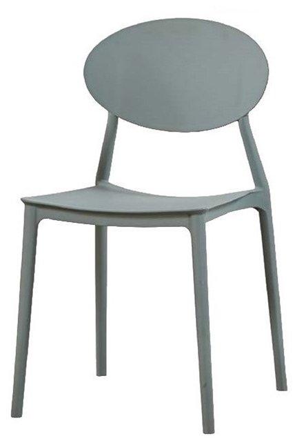 sedia in plastica grigia mobilificio torino e rivoli