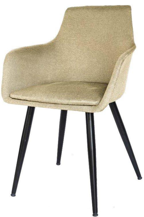 sedia tessuto beige gambe nere mobilificio torino e rivoli