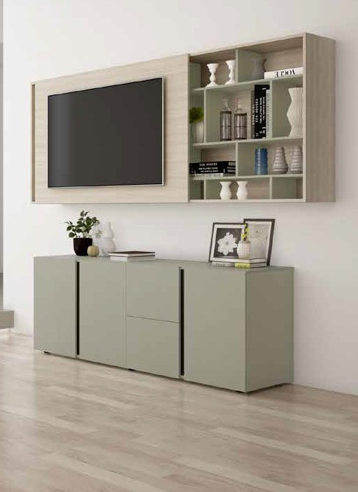 soggiorno color Olmo natura, Agave mobilificio torino e rivoli